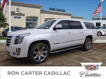 Ron Carter Cadillac >> 2017 Cadillac Escalade ESV For Sale Houston, TX ...
