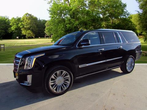 2016 Cadillac Escalade ESV for sale in Houston, TX