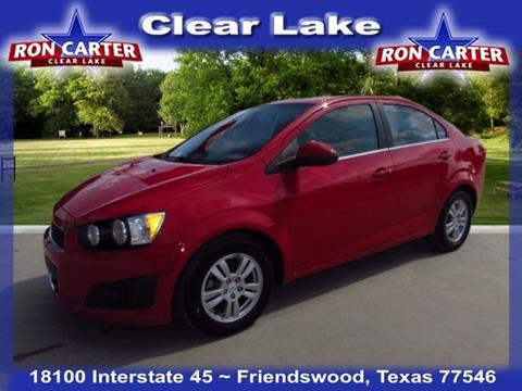 2012 Chevrolet Sonic for sale in Houston, TX