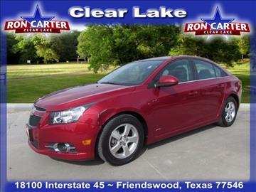 Used Chevrolet Cruze For Sale Houston Tx Carsforsale Com