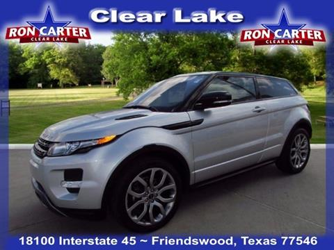 2012 Land Rover Range Rover Evoque Coupe for sale in Houston, TX