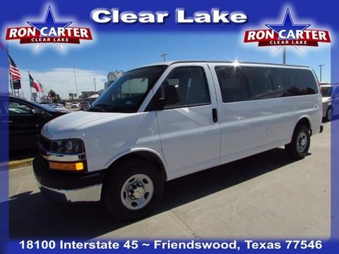 2016 Chevrolet Express Passenger for sale in Houston, TX