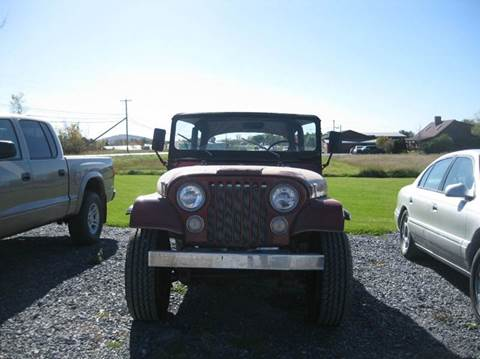 1973 Jeep CJ-5 for sale in New Haven, VT