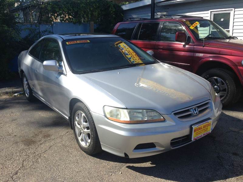 2001 Honda Accord EX V6 2dr Coupe In Chicago IL  NATIONAL MOTORS INC