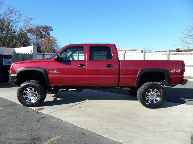 2004 chevrolet silverado 2500hd lt 4dr crew cab 4wd sb in fredericksburg va abc dieselz. Black Bedroom Furniture Sets. Home Design Ideas