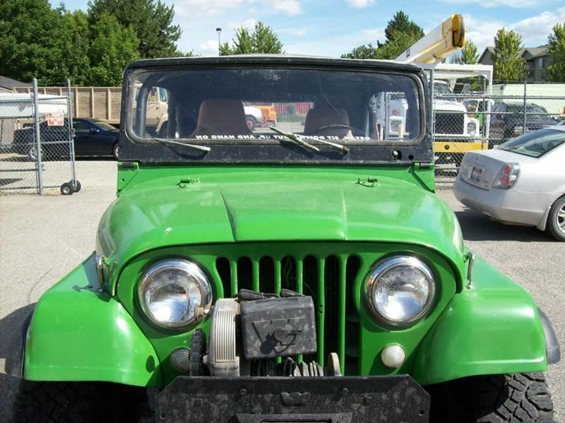 1969 Jeep Wrangler WRANGLER - Spokane Valley WA