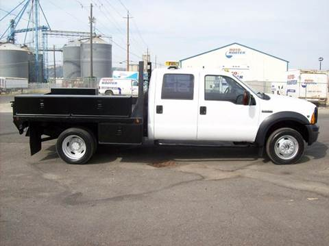 2007 Ford F-550 CREW CAB for sale in Spokane Valley WA