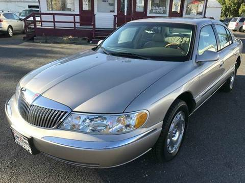 2002 Lincoln Continental for sale in Marysville, CA