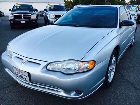 2001 Chevrolet Monte Carlo for sale in Marysville, CA