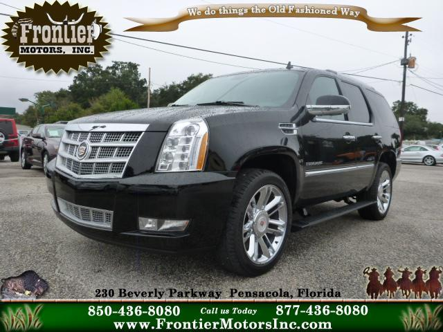 2012 cadillac escalade for sale for Frontier motors inc pensacola fl