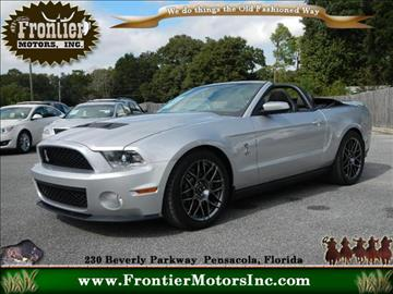 Ford shelby gt500 for sale in pensacola fl for Frontier motors inc pensacola fl