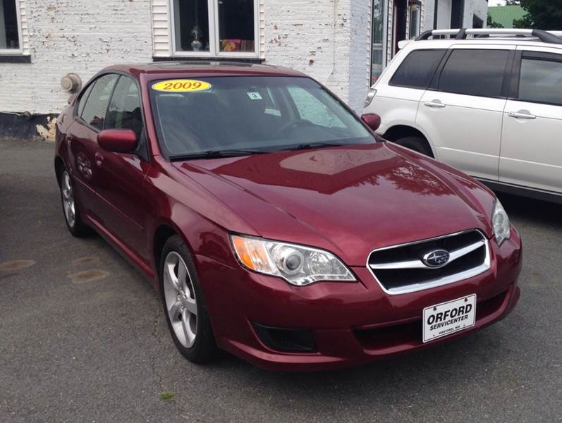 2009 subaru legacy awd special edition 4dr sedan 4a in orford nh orford servicenter inc. Black Bedroom Furniture Sets. Home Design Ideas