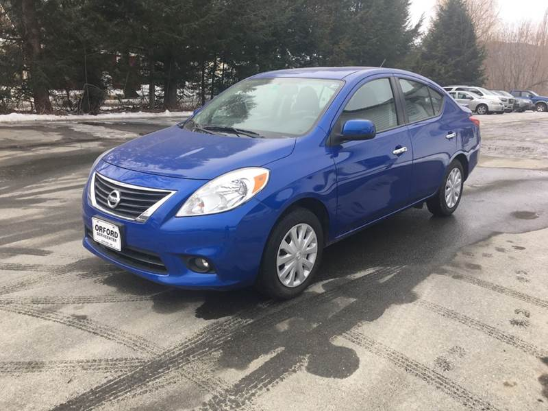 2013 nissan versa 1 6 sv 4dr sedan in orford nh orford servicenter inc. Black Bedroom Furniture Sets. Home Design Ideas