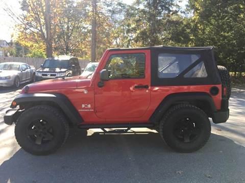 2009 Jeep Wrangler for sale in Orford, NH