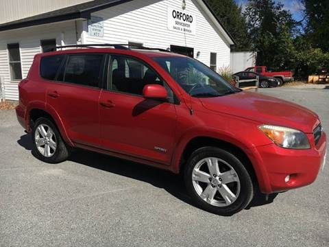 2007 Toyota RAV4 for sale in Orford, NH