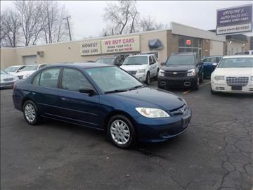 2005 Honda Civic for sale in Roseville, MI