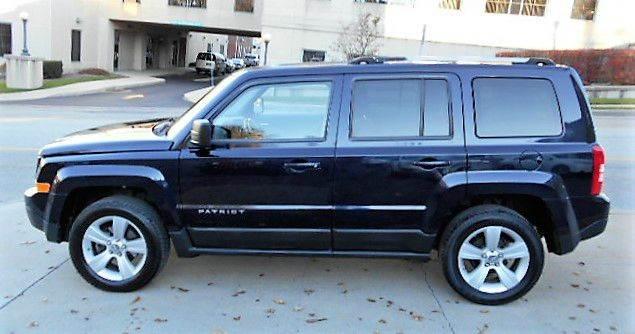 2011 jeep patriot 4x4 latitude x 4dr suv in somerset pa saylor motor co. Black Bedroom Furniture Sets. Home Design Ideas