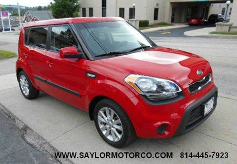 2013 Kia Soul for sale in Somerset, PA