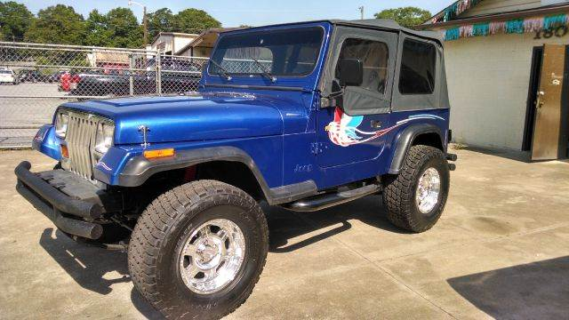 1995 jeep wrangler for sale in anderson sc. Black Bedroom Furniture Sets. Home Design Ideas