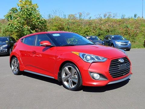 2013 Hyundai Veloster Turbo for sale in Langhorne, PA