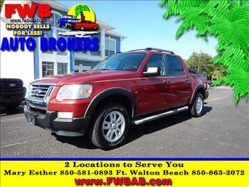 2008 ford explorer sport trac for sale florida for Selective motor cars miami