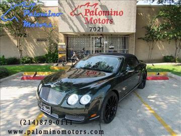 2008 Bentley Continental GTC for sale in Dallas, TX