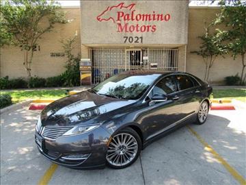 2014 Lincoln MKZ for sale in Dallas, TX