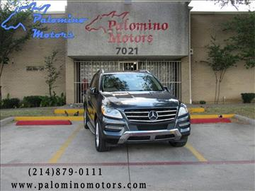 Mercedes benz m class for sale dallas tx for Mercedes benz service dallas tx