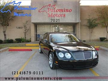 2006 Bentley Continental Flying Spur for sale in Dallas, TX