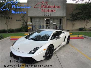 2012 Lamborghini Gallardo for sale in Dallas, TX