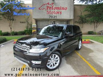 2016 Land Rover Range Rover Sport for sale in Dallas, TX