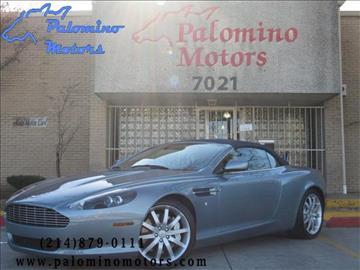 2006 Aston Martin DB9 for sale in Dallas, TX
