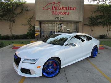 2015 Audi RS 7 for sale in Dallas, TX