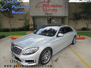 2014 Mercedes-Benz S-Class for sale in Dallas, TX