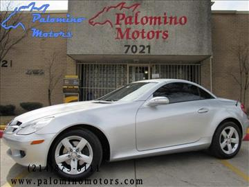 2008 Mercedes-Benz SLK for sale in Dallas, TX