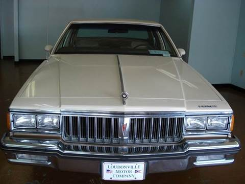 1985 Pontiac Parisienne for sale in Loudonville, OH