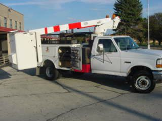 1997 Ford F350 DUALLY boom