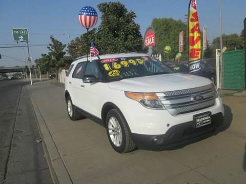 2014 Ford Explorer & Ford Used Cars Pickup Trucks For Sale FRESNO HACIENDA MOTORS markmcfarlin.com