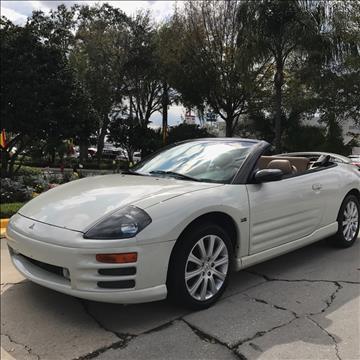 2001 Mitsubishi Eclipse Spyder for sale in Tampa, FL