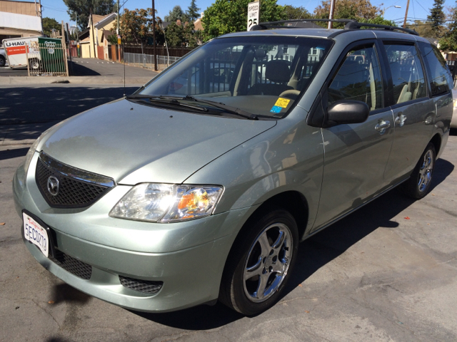 2003 MAZDA MPV LX 4DR MINIVAN green abs - 4-wheel captain chairs - 4 center console clock crui