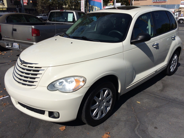 2006 CHRYSLER PT CRUISER LIMITED 4DR WAGON white antenna type anti-theft system - alarm anti-the