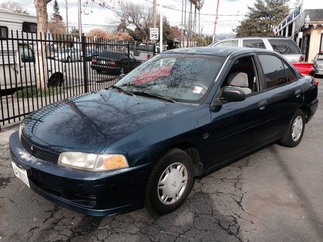 1999 MITSUBISHI MIRAGE DE SEDAN blue anti-brake system non-absbody style sedan 4-drcargo volum