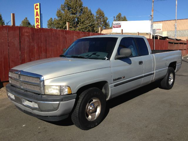 2000 DODGE RAM PICKUP 1500 QUAD CAB LONG BED 2WD silver the mileage represented on this vehicle is