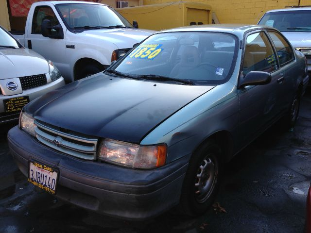 1994 TOYOTA TERCEL DX 2-DOOR SEDAN green anti-brake system non-abs  4-wheel absbody style seda