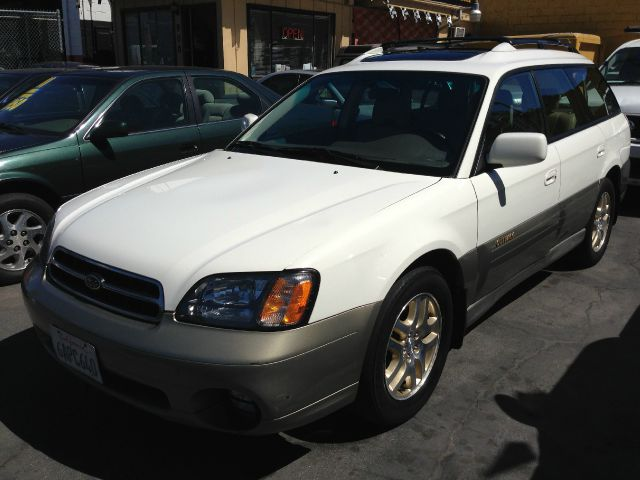 2000 SUBARU OUTBACK LIMITED WAGON white the mileage represented on this vehicle is accurate the i