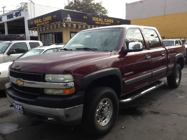 2002 CHEVROLET SILVERADO 2500 LS CREW CAB SHORT BED 2WD purp abs brakesair conditioningamfm ra