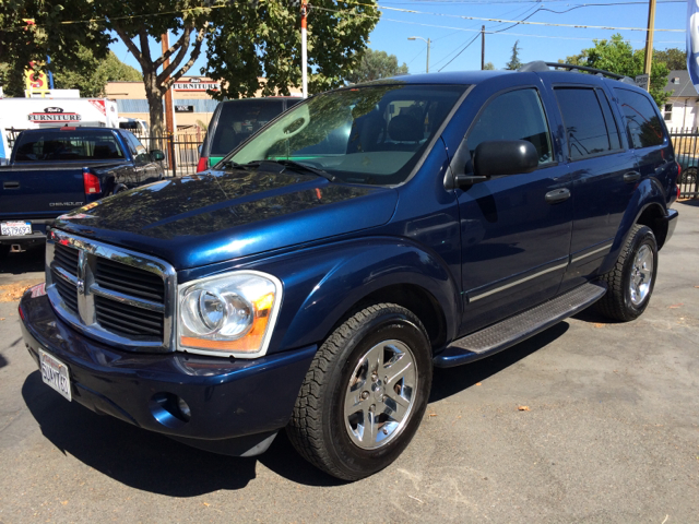 2005 DODGE DURANGO LIMITED 4DR SUV blue abs - 4-wheel adjustable pedals - power alloy wheels an