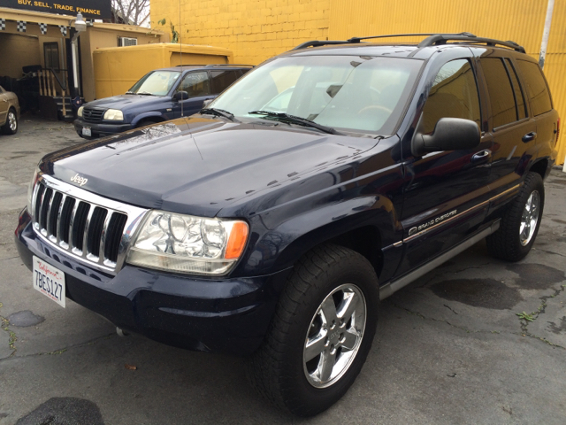 2004 JEEP GRAND CHEROKEE OVERLAND 4WD 4DR SUV abs - 4-wheel anti-theft system - alarm axle ratio