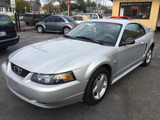 2004 FORD MUSTANG BASE 2DR COUPE silver anti-theft system - alarm center console clock exterior