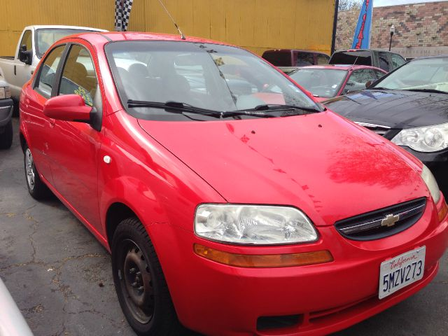 2005 CHEVROLET AVEO LS red air conditioningamfm radioanti-brake system non-abs  4-wheel absb